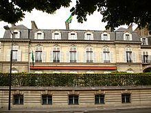 Embaixada do Brasil em Paris.