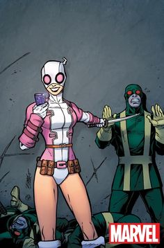 Gwenpool Teaser | Deadpool Bugle - sending me a sexy superselfie