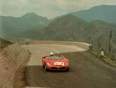 Phil Hill, Ferrari 268SP - Targa del '62