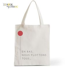 Tote Bag Rock my Citron, Ça, Stephen King, Cadeaux Fêtes, Anniversaires