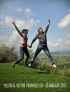 yuliya & victor  18maggio2013 jump for Forestaria