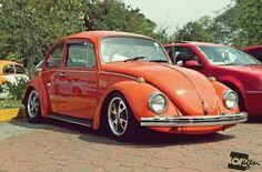 Volkswagen Beetle Vintage, Volkswagon Van, Vw Super Beetle, Beetle Car, Custom Vw Bug, Custom Cars, Fusca German Look, Old Bug, Bug Car