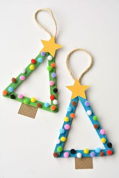 1001 fantastic ideas for tinkering with toddlers chris .- 1001 fantastische Ideen zum Basteln mit Kleinkindern christmas dekoration 1001 fantastic ideas for tinkering with toddlers christmas decoration - Kids Crafts, Diy Projects For Kids, Toddler Crafts, Diy And Crafts, Stick Crafts, Crafts With Toddlers, Craft Sticks, Recycled Crafts, Creative Crafts