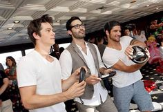Dylan O'Brien, Tyler Posey and Tyler Hoechlin | @celebritiies
