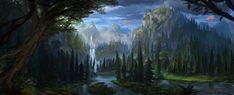 Yarvin Falls by MaxiimusT.deviantart.com on @DeviantArt