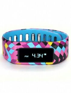A geometric print activity tracker from Justice!! Very cool!
