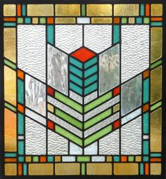 Stained glass idea for great room (not as detailed and more subtle colors)