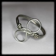 Infinity Wire Wrapped Ring