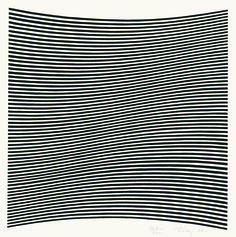 Bridget Riley, Untitled (La Lune en Rodage - Carlo Belloli), Screenprint, 1965. Signed in pencil and numbered from the edition of 200. Printed by Kelpra Studio, London. Published by Editions Panderma. (Schubert 6), 31.9 x 31.9 cm. © Bridget Riley 2014. All rights reserved, courtesy Karsten Schubert, London.