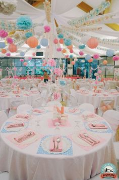 A Shabby Chic 1st Birthday Party