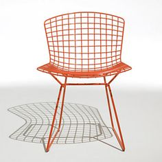 The Bertoia Side Chair by Knoll Outdoor Chairs, Outdoor Furniture, Outdoor Decor, Harry Bertoia, Love Chair, Side Chairs, People, Design, Home Decor