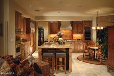 Cozy southwest kitchen
