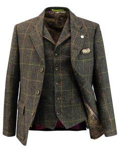Grouse GIBSON LONDON Matching Blazer & Waistcoat