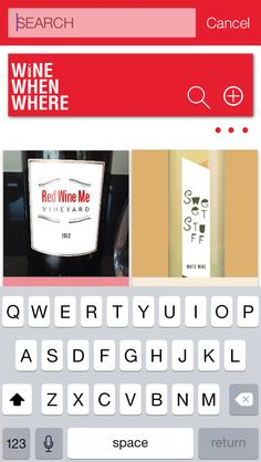 Wine When Where- Search Wine Entries. Now available in the App Store!