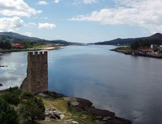 Catoira (Pontevedra) Medieval Tower, Cool Places To Visit, River, Country, Beach, Pictures, Outdoor, Gardens, Dreams