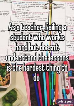 Whisper App. Confessions from teachers.