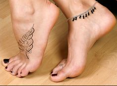 fern Tattoo Meaning | ... Zealand (Silver Fern), Canada (Maple Leaf), and Ireland (Celtic Knot