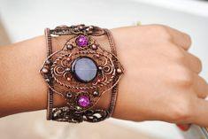 Copper Bracelet by twistedjewelry.deviantart.com on @deviantART
