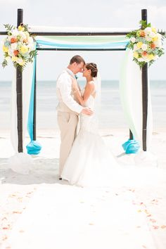 www.irismoorephotography.com  Beach Wedding in Key West, FL  Elopement in Key West, FL  Key West Photographer