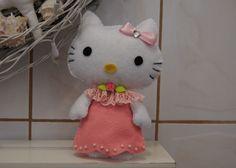 DIY - Hello Kitty en fieltro  (manualidades BBarte1)