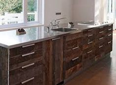 rustic kitchen cupboard doors with holes - Google Search