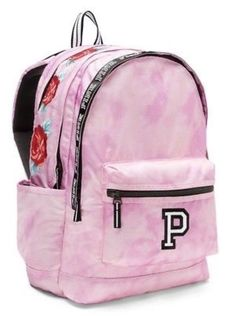 Looking for Victoria's Secret PINK Campus Backpack Cupid Pink Tie Dye With Roses ? Check out our picks for the Victoria's Secret PINK Campus Backpack Cupid Pink Tie Dye With Roses from the popular stores - all in one. Victoria Secret Backpack, Victoria Secret Bags, Backpack Brands, Backpack Purse, Backpack 2017, Mini Backpack, Victoria Secrets, Cute Backpacks For School, Girl Backpacks