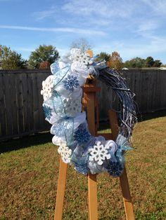 Winter wreath I made