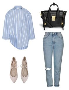 """""""Untitled #129"""" by shanitadinda on Polyvore featuring Vetements, Topshop and 3.1 Phillip Lim"""