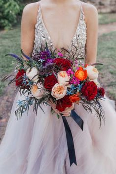 Jewel Toned Wedding Ideas with a Surprise Proposal ⋆ Ruffled Wedding Pics, Trendy Wedding, Floral Wedding, Wedding Colors, Wedding Flowers, Wedding Dresses, Wedding Ideas, Wedding Themes, Wedding Decor