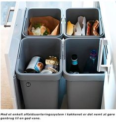 IKEA sorting system #recyclebins