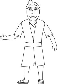Isaiah Coloring Page I saw the