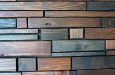 Art mural bois