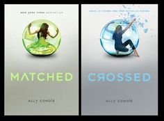 These two books are the first and second books in a trilogy by Ally Condie. The books are dystopias, which I love!!! I recommend to anyone who likes The Hunger Games or Divergent.