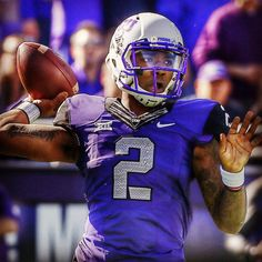 #TyroneBoykin is the early 5/1 favorite for this season's #HeismanTrophy. Think the #TCU pivot can bring home college football's top individual award? #ncaa #ncaafb #ncaaf #cfb #hornedfrogs #big12 #fearthefrog #bleedpurple #tfufootball #collegefootball #raratcu #instafootball #football #picoftheday #photooftheday #topbet #sportsbook #gameon