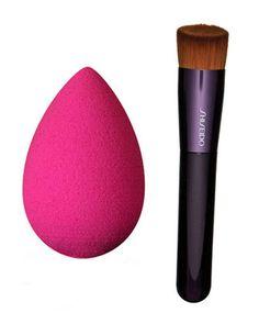 FLARE picks: Beauty Blender Makeup Sponge Applicator, $26. Shiseido Perfection Foundation Brush, $33