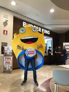 Mascotte for Burger King