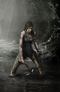 Tomb Raider Reborn epic illustrations