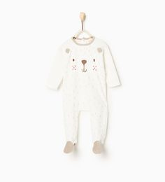 Image 1 of Little bear plush pajamas from Zara