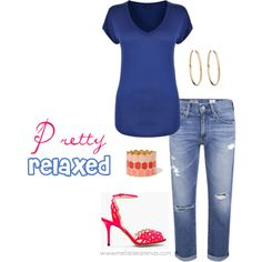 """""""Pretty Relaxed"""" by marenas on Polyvore"""