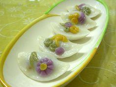 Songpyeon, Korean rice cakes <3