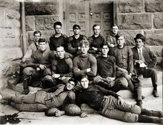 The 1909 Howard Payne College football team. College Football Teams, Team Photos, American Football, Activities, Logos, Sports, Vintage, Hs Sports, Team Pictures