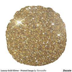 Luxury Gold Glitter - Printed Image