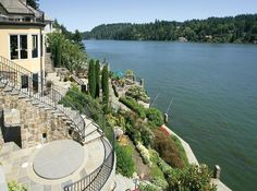 LHM Oregon/SW Washington - Million invested in the infrastructure and design of this Old World Tuscan estate. The stone facade and terraced grounds are reminiscent of enchanting Italian villas. The grand interior and smart floorplan are ready for your finish choices. Rare opportunity to build out your dream on this premium main lake location. An Italian Lake Como estate has found its way to Lakeview Boulevard at last. • 7500 square feet | .23 acre • 3 bedrooms | 5.5 bathrooms