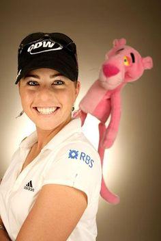 Paula Creamer-Lady in Pink Paula Creamer, Lpga, Hole In One, Great Women, Female Athletes, Pink Ladies, Korean, Japan, Sports