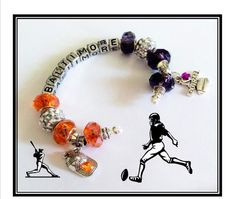 Baltimore  ORIOLES and Baltimore RAVENS by SWANKEE on Etsy