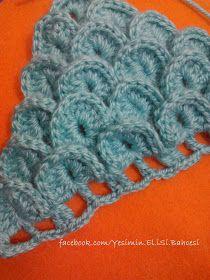 Zapatillas de escamas de dragón - paso a paso Crochet Girls Dress Pattern, Crochet Shoes, Crochet Blanket Patterns, Sombrero A Crochet, Crochet Fashion, Shawl, Girls Dresses, Slippers, Beanie