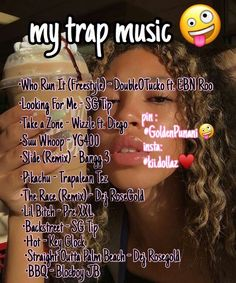 my trap playlist atm - Entertainment Movie Music Lit Songs, Mood Songs, Music Lyrics, Music Songs, Gospel Music, Piano Music, Rap Playlist, Playlists, Chill Songs