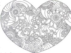 heart full of flowers - I can see this as a tattoo!