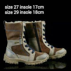 READY STOCK KIDS LEATHER BOOTS KODE : LOKI HORSE Size 27,29 PRICE & SIZE : - Size 27 (insole 17cm) = Rp.205.000 - Size 29 (insole 18cm) = Rp.225.000  Material : Genuine Leather (Kulit Asli),Sol karet lentur. Nyaman dan tidak berat utk anak-anak :)   Insole = panjang sol dalam. Ukurlah panjang telapak kaki anak, beri jarak minimal 1,5cm dari insole :)   FOR ORDER : SMS/Whatsapp 087777111986 PIN BB 766A6420 Facebook : Mayorishop  #pusatsepatubootsanak #readystock #sisaekspor…