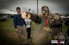 Spartans have SWAG! #SpartanRace